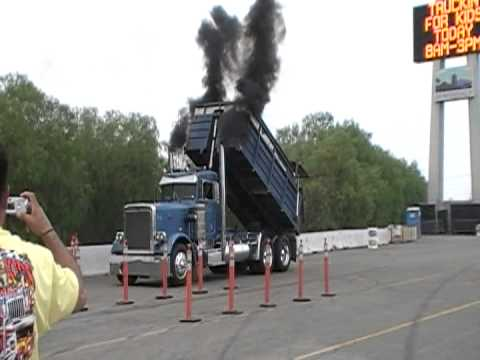 Transfer-Dump Race Is The Strangest Big Rig Semi Truck Race On The Planet