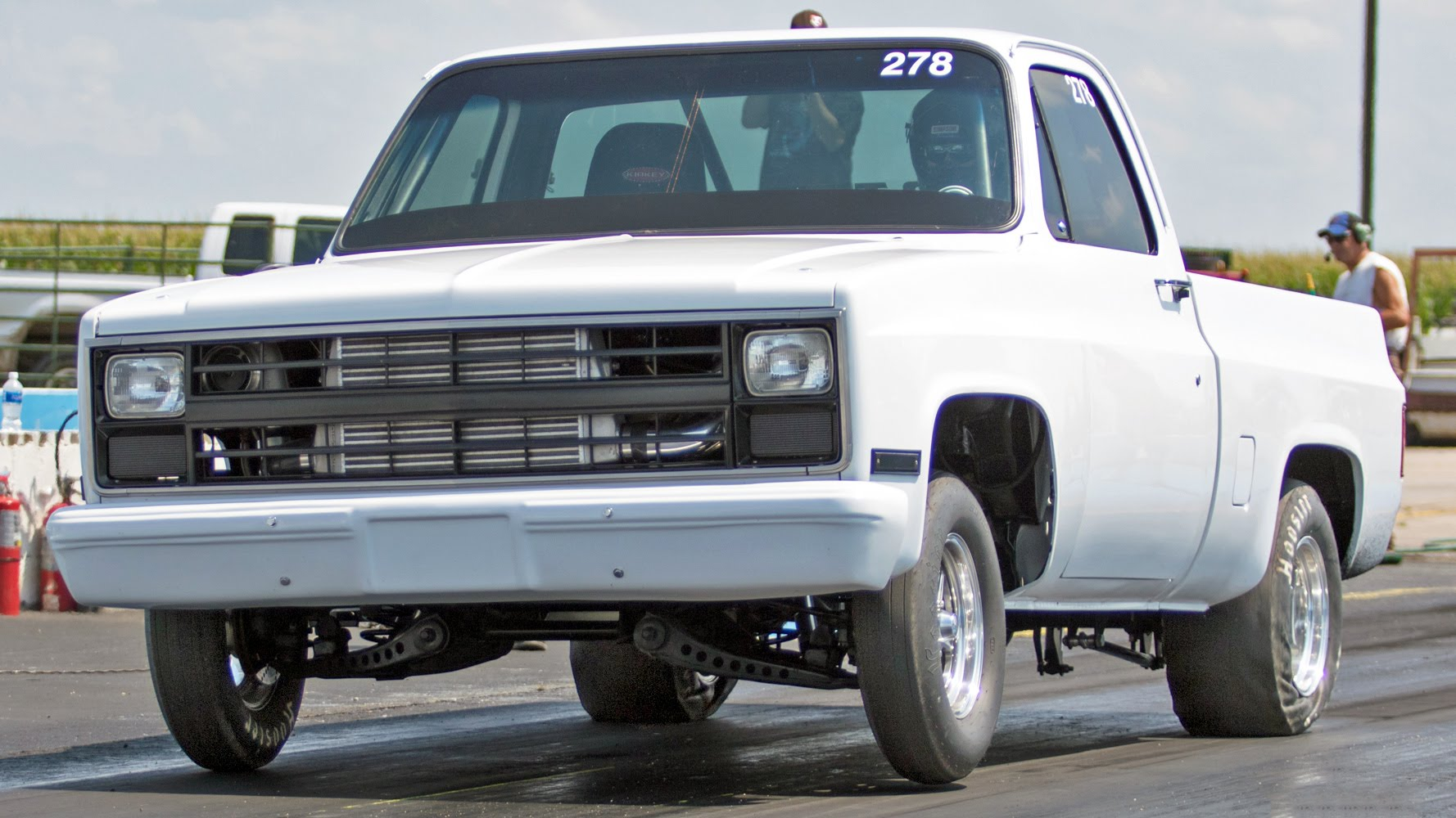 Truck c10 chevy truck : Yeah Buddy, This Turbo Chevy C10 Drag Racer Is A 9 Second Pickup ...
